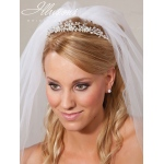 Illusions Bridal Rhinestone Bridal Tiaras 2787