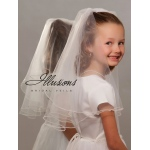 Illusions Bridal Flower Girl and First Communion Veils MFC-202-P