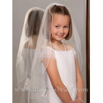 Illusions Bridal Flower Girl and First Communion Veils M-251-P