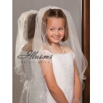 Illusions Bridal Flower Girl and First Communion Veils M-251-F
