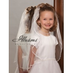 Illusions Bridal Flower Girl and First Communion Veils M-251-1R