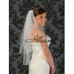Illusions Bridal Rattail Edge Veil S5-302-RT