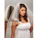 Illusions Bridal Rattail Edge Veil C7-202-RT