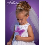 Illusions Bridal Flower Girl and First Communion Accessories 3186