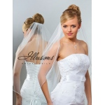 Illusions Bridal Rattail Edge Veil 5-301-RT