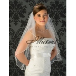 Illusions Bridal Rattail Edge Veil 1-301-RT