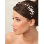 Illusions Bridal Hair Accessories 8206: Silver