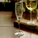 JDS Personalized Glass: Toasting