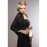 Mariell Luxurious Mesh Evening Or Prom Wrap
