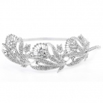 Mariell Breathtaking Art Nouveau Bridal Headband