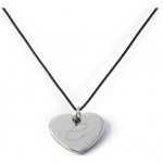 JDS Personalized Heart Pendant Necklace