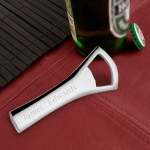 JDS Personalized Bottle Opener: Silver Plated