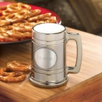 JDS Personalized Gunmetal Mug with Pewter Medallion