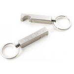 JDS Keychain/Bottle Opener: Stainless Steel