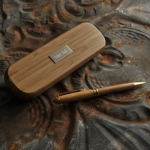 JDS Personalized Bamboo Pen Set