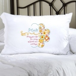 JDS Personalized Celebrate Faith Pillow Cases
