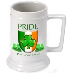 JDS Personalized Beer Stein: Irish Pride