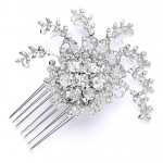 Mariell Top Selling Prom Or Wedding Crystal Spray Comb