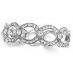 Mariell Art Deco Links Bracelet