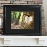 JDS Personalized Print with Wood Frame: Tree of Love