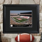 JDS Personalized Print with Wood Frame: NFL Stadium