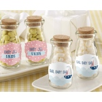 Personalized Milk Jar, Kate's Nautical Baby Shower Collection: Set of 12