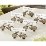 Le Tour, Bicycle Place Card, Photo Holder: Set of 6