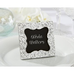 Sparkle and Shine, Silver Glitter Frame