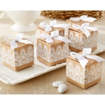 Rustic & Lace, Kraft Favor Box: Set of 24
