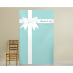 Personalized Something Blue Photo Backdrop