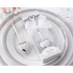 Tea Time, Heart Tea Infuser in Elegant White Gift Box
