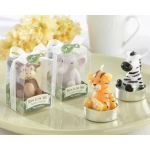 Kate Aspen Born to be Wild, Animal Candles: Set of 4, Assorted