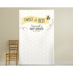 Kate's, Sweet as can Bee, Personalized Honeycomb Photo Backdrop