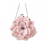 Pink Flower Quinceanera Purse