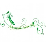 Sweet Pea Baby Wall Decoration