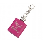 Maid Of Honor Pink Mini Flask