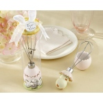 "Kate Aspen ""About to Hatch"" Stainless-Steel Egg Whisk in Showcase Gift Box"