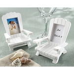 "Kate Aspen ""Beach Memories""  Miniature Adirondack Chair Place Card/Photo Frame (Set of 4)"