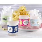 Kate Aspen Frosted-Glass Votive - Baby (Available Personalized)