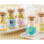 "Kate Aspen ""Vintage"" Milk Bottle Favor Jar - Baby (Set of 12) (Available Personalized)"