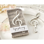 "Kate Aspen ""Symphony"" Chrome Music Note Bottle Opener"