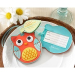 "Kate Aspen ""Owl Be Seeing You"" Owl Luggage Tag"