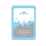 Kate Aspen Rectangle Sticker with Rounded Corners (Set of 12)