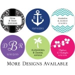 Kate Aspen Round Stickers (Set of 48)