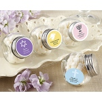 Kate Aspen Mini Glass Favor Jar - Religious (Set of 12) (Available Personalized)