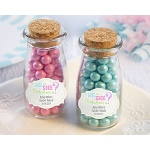 "Kate Aspen ""Gender Reveal"" Personalized Milk Jar (Set of 12)"