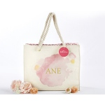 Kate Aspen Watercolor Tote Bag With Rope Handles - Personalization Available