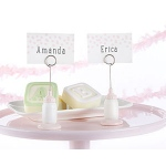 Kate Aspen Classic Pink Baby Bottle Place Card Holder (Set of 6)