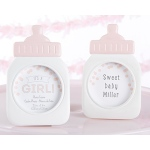 "Kate Aspen ""It's a Girl!"" Classic Pink Baby Bottle Frame"