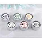 Kate Aspen Personalized Silver Round Candy Tin - Graduation Adventure Begins (Set of 12)